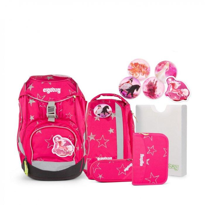 7ec62faf0b Školská taška Set Ergobag pack Ružová